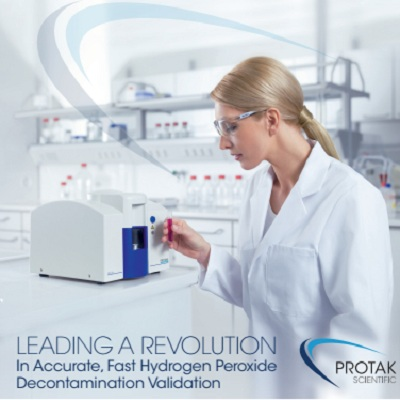 IN ACCURATE, FAST HYDROGEN PEROXIDE DECONTAMINATION VALIDATION