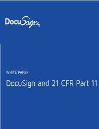 DOCUSIGN AND 21 CFR PART 11