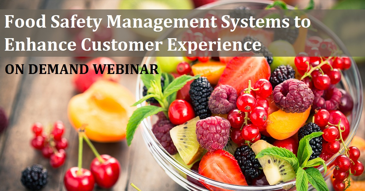 Food Safety Management Systems to Enhance Customer Experience