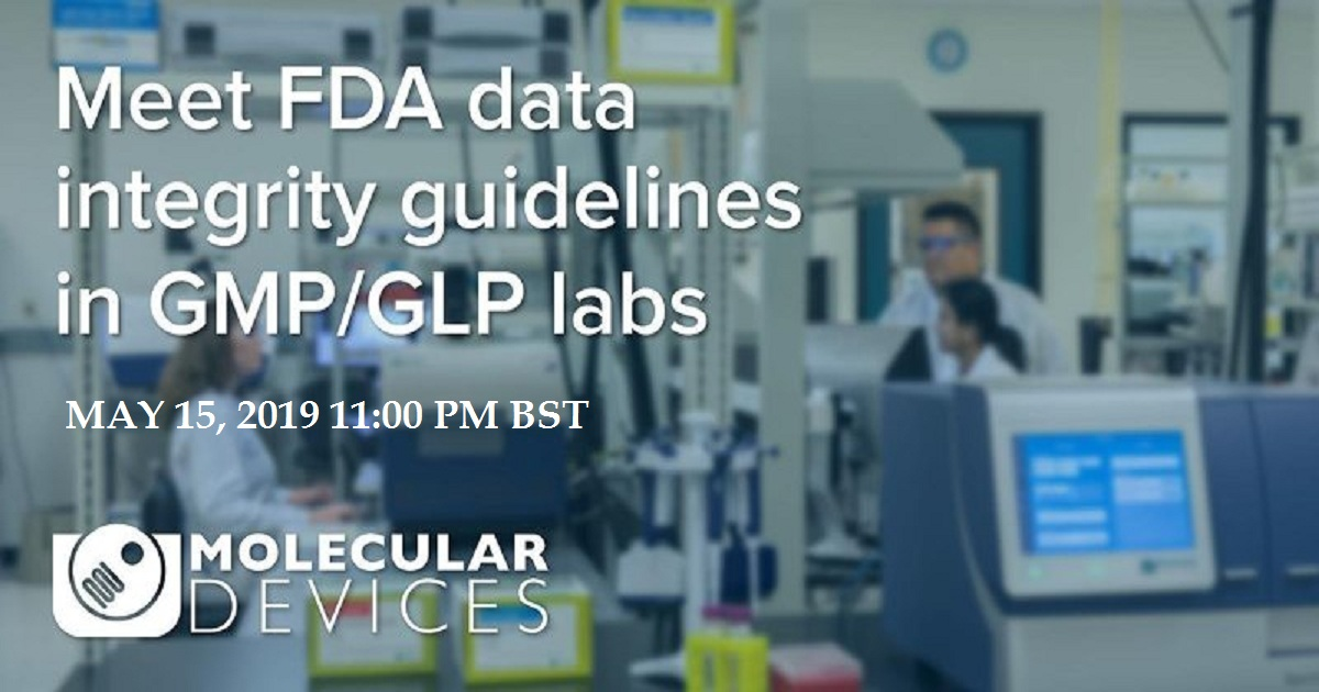 How a complete set of software and validation tools for microplate readers can help GMP/GLP labs meet FDA data integrity guidelines