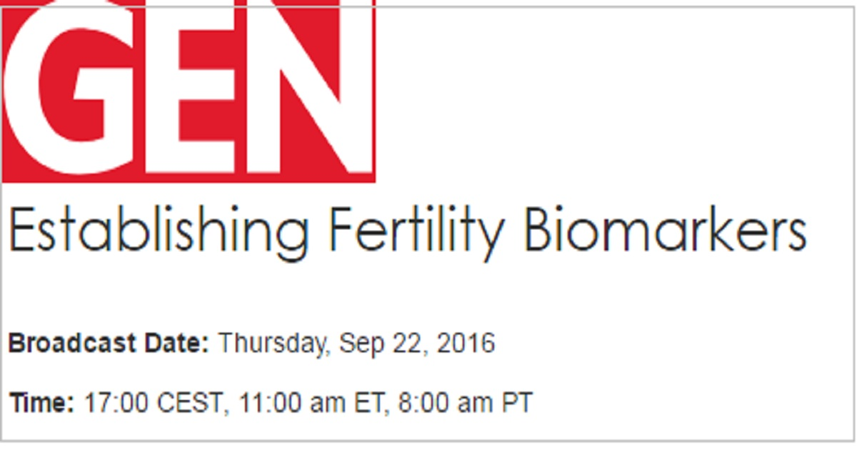 Establishing Fertility Biomarkers