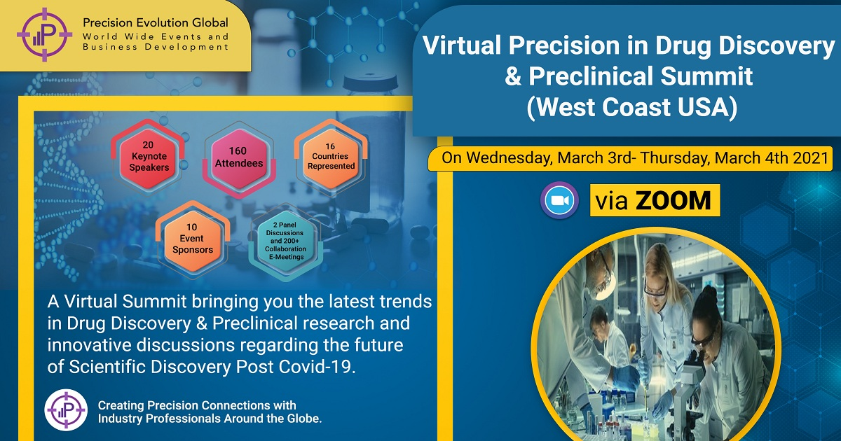 Precision in Drug Discovery & Preclinical Virtual Summit(West Coast)