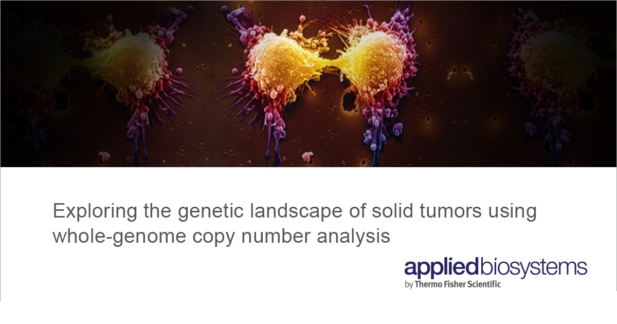 Exploring the genetic landscape of solid tumors using whole-genome copy number analysis