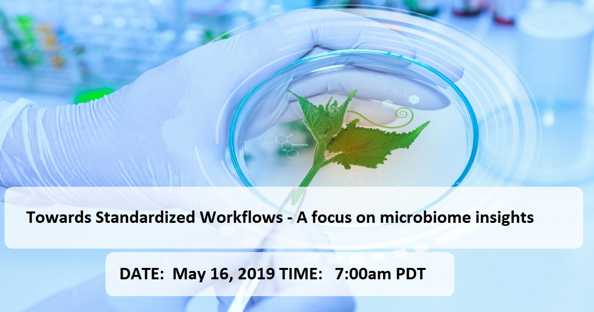 Towards Standardized Workflows - A focus on microbiome insights