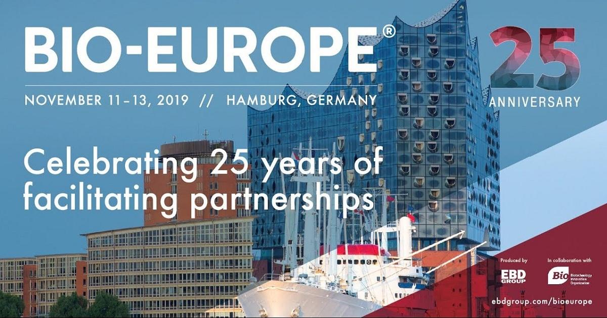25th Annual International Partnering BIO-EUROPE