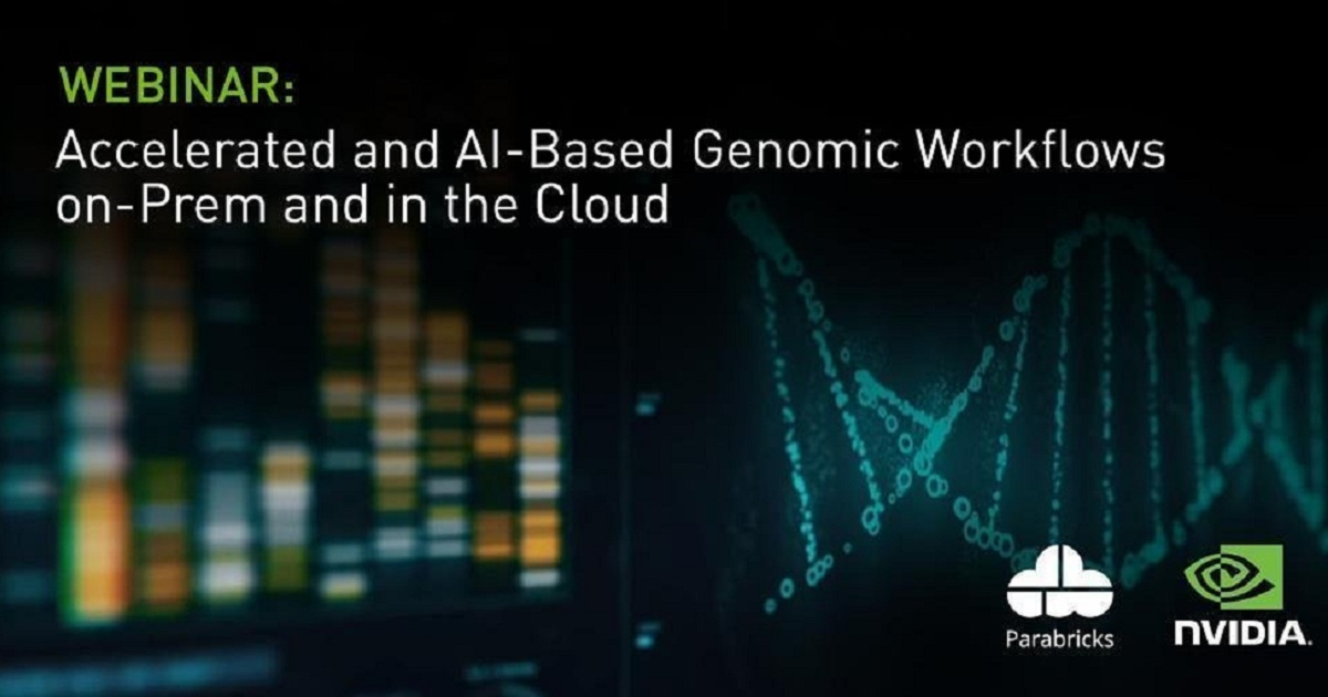 Accelerated and AI-Based Genomic Workflows On-Prem and in the Cloud