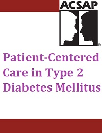 PATIENT-CENTERED CARE IN TYPE 2 DIABETES MELLITUS