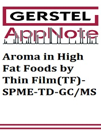 AROMA IN HIGH FAT FOODS BY THIN FILM(TF)-SPME-TD-GC/MS