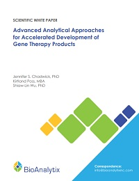 ADVANCED ANALYTICAL APPROACHES FOR ACCELERATED DEVELOPMENT OF GENE THERAPY PRODUCTS