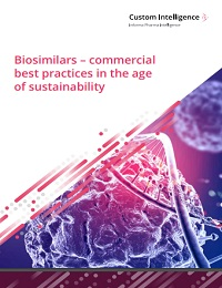 BIOSIMILARS – COMMERCIAL BEST PRACTICES IN THE AGE OF SUSTAINABILITY